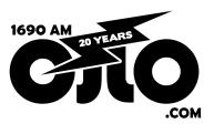 CJLO 20 Years Logo